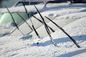Should I Use My Wiper Blades to Clean Off Snow and Ice
